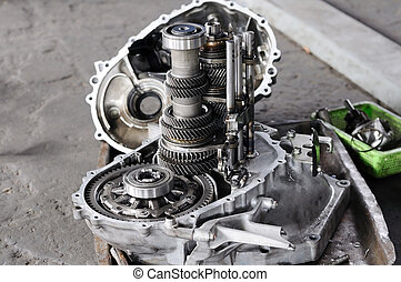 Spare part of transmission car system