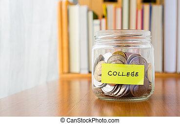 spareinlagen, hochschule, plan