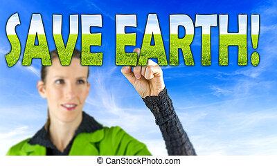 sparen, aarde