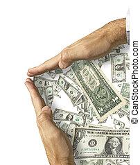 sparen, money!, op