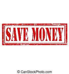 sparen, money-stamp