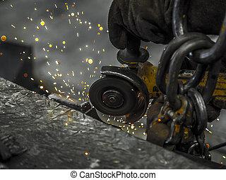 spark drill hand tool
