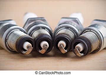 Spark plugs photo