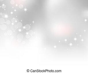 Sparkle background - Soft light grey background with...