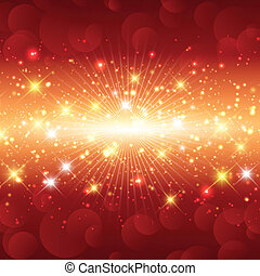 Sparkle christmas background - Christmas background with a...