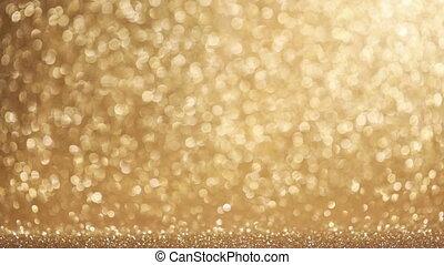 Sparkle glittering background - Golden sparkle glittering ...
