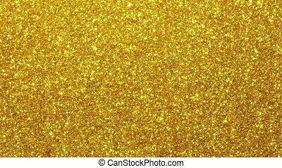 Sparkle glittering background - Golden sparkle glittering...