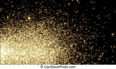 sparkle., plantilla, -, parpadeo, amarillo, diseño, luces,...