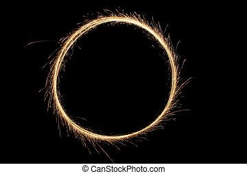 sparkler, anello