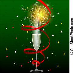sparkler, boisson
