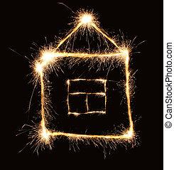 sparkler, casa