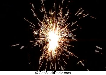 Sparkler - Golden Sparkler