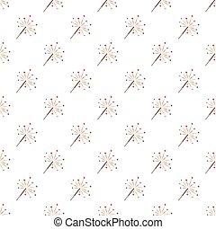 Sparkler pattern seamless