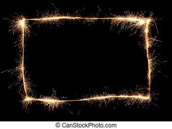 sparkler, quadro