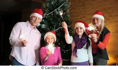 sparklers, famille