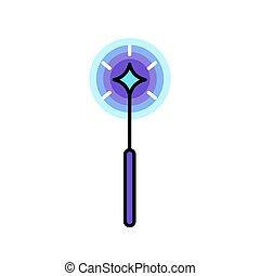 sparkles., マジック, 星, 細い棒