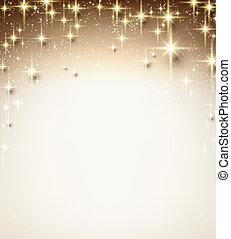 sparkles., kerstmis, starry, achtergrond