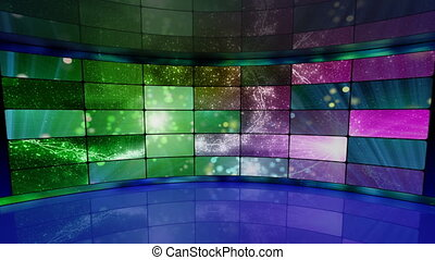 sparkles on screens virtual studio