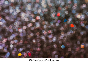 sparkling background.