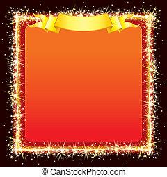 Sparkling Bright Frame