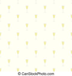 Sparkling champagne pattern seamless vector