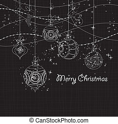 Sparkling Christmas Ornaments