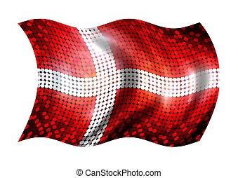 Sparkling Flag of Daenmark