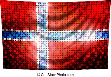 Sparkling Flag of Norway
