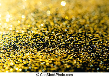 Sparkling Glitter bokeh Background with light.
