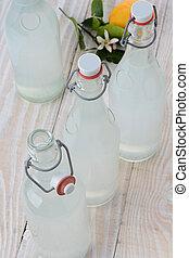 Sparkling Lemonade Bottles