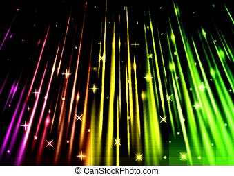 sparkling light speed abstract background