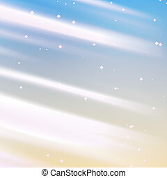 Sparkling lights - Bright glowing light streaks with...