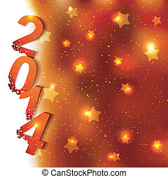 Sparkling New Year Background
