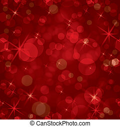Sparkling red seamless vector - Vector illustration of...