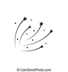 Sparkling star icon