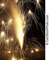 Sparkly Fireworks II