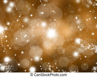 Sparkly gold background