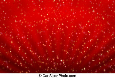 Sparkly holiday abstract