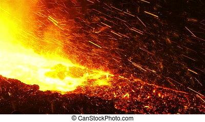 Sparks iron