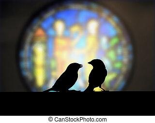 Sparrow small talk