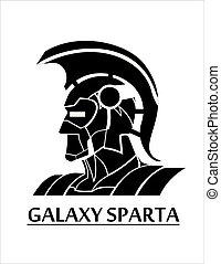 sparta, γαλαξίας