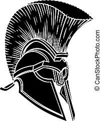 spartan, ρωμαϊκός , γενναίο και φιλεργό άτομο , κράνος , gladiator