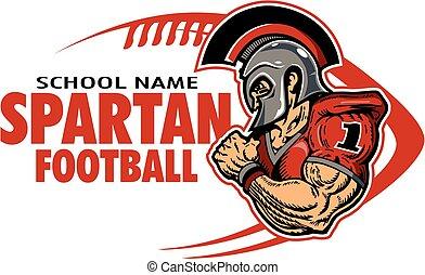 spartan, フットボール