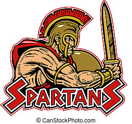 spartan, 保護, 剣