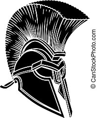 Spartan Ancient Greek Helmet