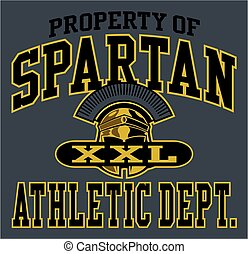 spartan athletics - property of spartan athletic department...