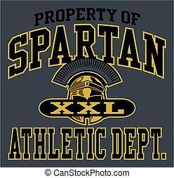 spartan, atletyka
