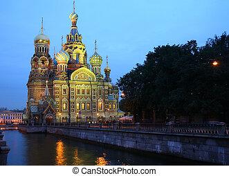 Spas-na-krovi cathedral . St.Petersburg