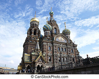 Spas-na-krovi - Church of Our Saviour on Spilled Blood or...