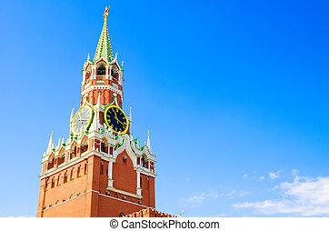 Spasskaya Tower in Moscow Kremlin